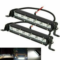 2X 18W LED Arbeitsscheinwerfer Nebelscheinwerfer Spot Driving Lampe Offroad LKW
