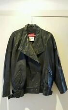 Regular Size Leather Motorcycle Coats & Jackets for Women