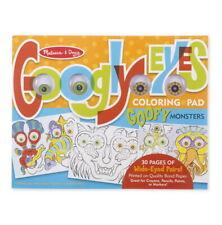 Goofy Monster Coloring Pad Melissa & Doug Googly Eyes Art Kit