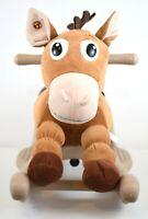 Disney Pixar Toy Story Bullseye Horse Rocker Rocking Ride On Toy Talking
