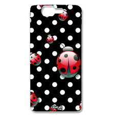 CUSTODIA COVER CASE POIS BIANCHI COCCINELLE RED PER WIKO HIGHWAY