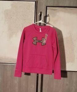 New Women's Under Armour Long Sleeve Sweatshirt Size S/P (NWT)