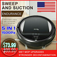 Self Navigated Rechargeable Smart Robot Vacuum Cleaner Auto Sweeper Household 0j