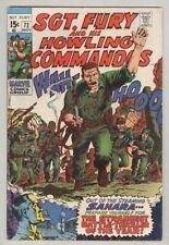 Sgt. Fury and His Howling Commandos #72 November 1969 VG