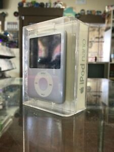 iPod Nano 3rdGen 4GB Silver (NEW, NEVER REMOVED FROM BOX)(CLEAN)(TESTED WORKING)
