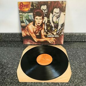 LP VINYL ALBUM DAVID BOWIE DIAMOND DOGS UK 1ST PRESS APL1-0576 SUPER COPY NM/EX