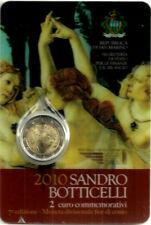 SAN MARINO. 2010. 2 EURO CONMEMORATIVO. SANDRO BOTICELLI