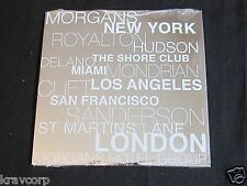 MOBY/IAN BROWN/CITIZEN COPE 'MORGANS HOTEL GROUP' 2006 PROMO CD—SEALED