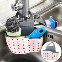 Waschbecken Regal Seife Schwamm Abtropfbrett Bad Halter Küche Lagerung Saug G3C8