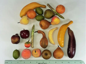 "23 LARGER FRUITS & VEGGIES- 2"" - 5"" EACH - NEW"