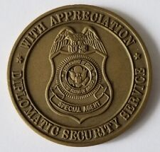 Department of State Diplomatic Security Service Appreciation Coin
