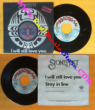 LP 45 7'' STONEBOLT I will still love you Stay in line 1978 italy no cd mc dvd*