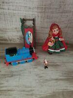 Hallmark christmas ornament lot Coca Cola Thomas Train Little Red Riding Hood
