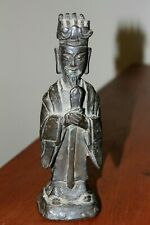 Very old Antique Solid Bronze Chinese Tibetan Korean BUDDHA Statue Sculpture
