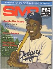 November 2017 SMR Sports Market Report Price Guide New Never Read Sealed Jackie