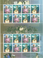 Canada Scott # 2316a Black History Month Uncut Stamp Sheet MNH