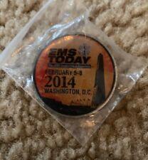 JEMS EMS TODAY 2014 Souvenir Pin RARE DC