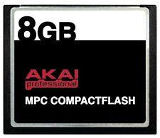 8GB AKAI CF Memory Card + Samples for MPC 5000 MPC500 MPC1000 MPC2500 MPC5000