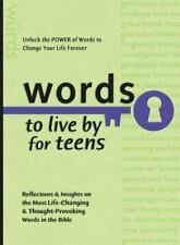 Words to Live By for Teens (Words to Live by (Bethany House)) Baker Publishing