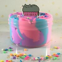 "Slime ""Cotton Kitty Frosting"" DIY Scented Butter Charm Inflating Soft 6 8 oz"