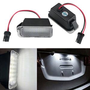 LED Kennzeichenbeleuchtung Weiß Leucht Für Ford Galaxy SMAX Fiesta Mondeo Kuga