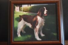 OIL ON BOARD COCKIER SPANIEL DOG FINE PAINTING image 15.5 by 13.5 by B.Johnson
