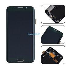 Pour Samsung Galaxy S6 Edge G925F Ecran LCD Vitre Tactile+Châssis Vert+Outils