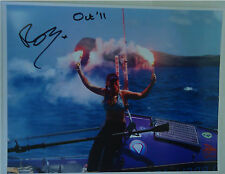 Roz's autographed photo after she completed her Indian Ocean Row