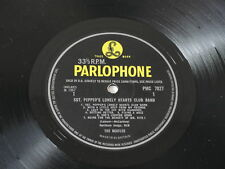 THE BEATLES 'SGT PEPPERS' UK 1st  MONO (1/1) 1967 British Invasion LP!