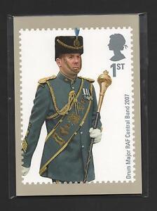 GB 2008 RAF UNIFORMS PHQ STAMP CARDS