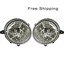 Halogen Head Lamp Assembly Set of 2 Pair LH & RH Side Fits Jeep Compass Patriot
