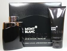 Mont Blanc Legend 2 Pcs Set With 3.4oz. Edt Spray For Men New In Box