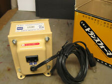 NDF-1100 U Step Down Transformer Japan 110v - 120v for use in USA and Canada