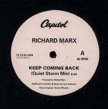 "Richard Marx(12"" Vinyl)Keep Coming Back-Capitol-12 CLDJ 634-UK-VG/VG"