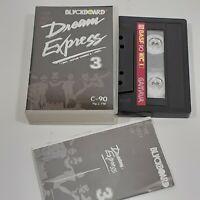 DREAM EXPRESS 3 BLACKBOARD IMPORT CASSETTE TAPE ALBUM ROCK INDONESIA