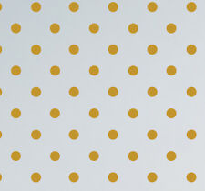 Polka Dot Spot Wall Stickers Decals Kids Child Bedroom Living Room Gold Circles