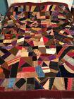 Antique Crazy Quilt Top. Late1800's      #606