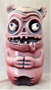 Skull Fink Neko 36/100 Tiki Mug by Munktiki