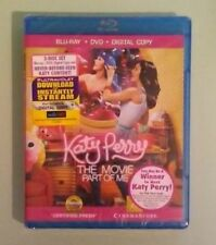 KATY PERRY THE MOVIE PART OF ME BLU RAY  NEW
