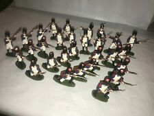 AIRFIX FRENCH NAPOLEONIC GRENADIERS SET OF 29 PAINTED FIGURES 1/32 SCALE