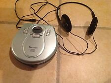 Venturer DM8901-45 Personal CD Player W/ Headphone 45 SEC Anti Shock Protection