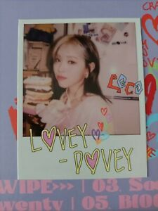 Itzy Ryujin Official photocard polaroid Crazy in love kpop