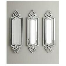 Horchow Venetian Frameless WALL MIRROR Beveled NEW Neiman Marcus Scrolled