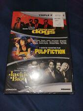 Sealed Reservoir Dogs/Pulp Fiction/Jackie Brown (Dvd, 2012, 3-Disc Set)