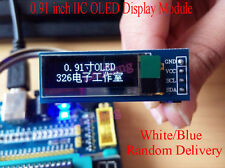 "IIC I2C 0.91"" inch 128x32 OLED LCD Display Module AVR PIC for Arduino DC 3.3-5V"