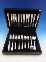 Rambler Rose by Towle Sterling Silver Flatware Service For 12 Set 60 Pieces