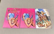 2x DANGER GIRL GALLERY EDITION JETPACK KRIS EXCL; VIRGIN plus BANG BOAT Campbell