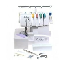 Thread Serger Overlock Threading Sewing Machine 22 Built-in Adjustable Stitch NE