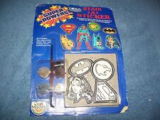 Vintage 1984 Super Powers Stain a Sticker by Craft Master