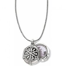 NWT Brighton WINTER SPARKLE Snowflake Locket Holiday Necklace Photo MSRP $58